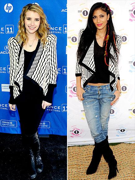 EMMA VS. NICOLE photo | Emma Roberts, Nicole Scherzinger