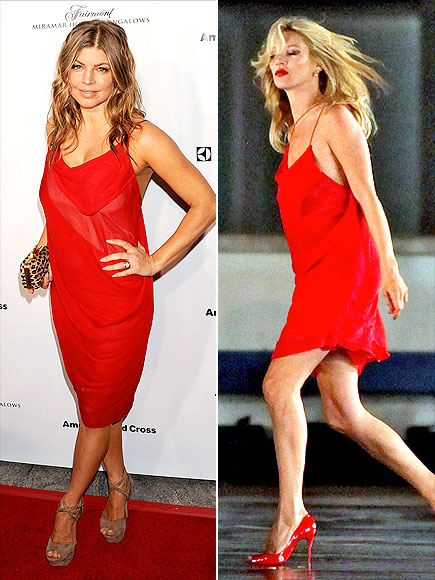 FERGIE VS. KATE photo | Fergie, Kate Moss