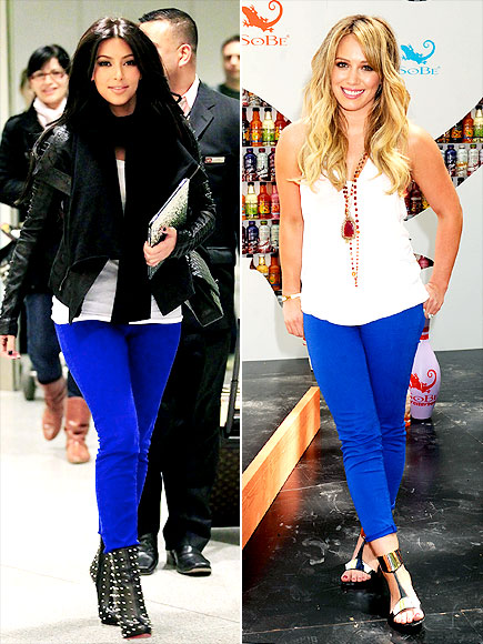 KIM VS. HILARY photo | Hilary Duff, Kim Kardashian