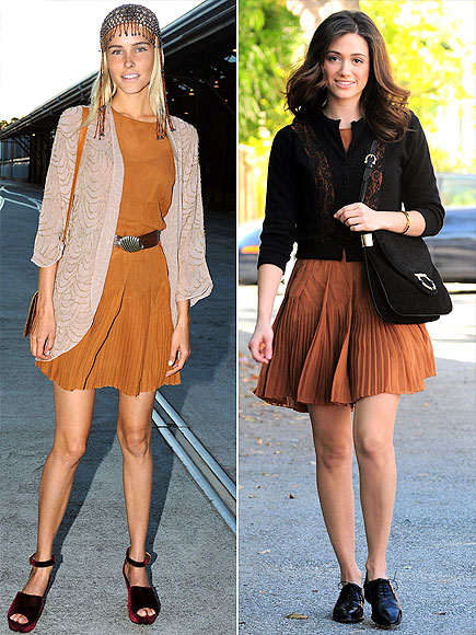 ISABEL VS. EMMY photo | Emmy Rossum, Isabel Lucas