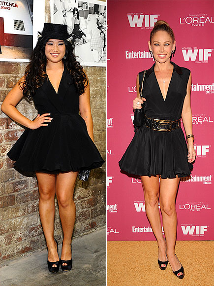 JENNA VS. KYM photo | Jenna Ushkowitz, Kym Johnson