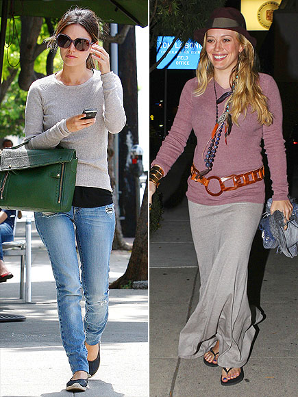 RACHEL VS. HILARY photo | Hilary Duff, Rachel Bilson