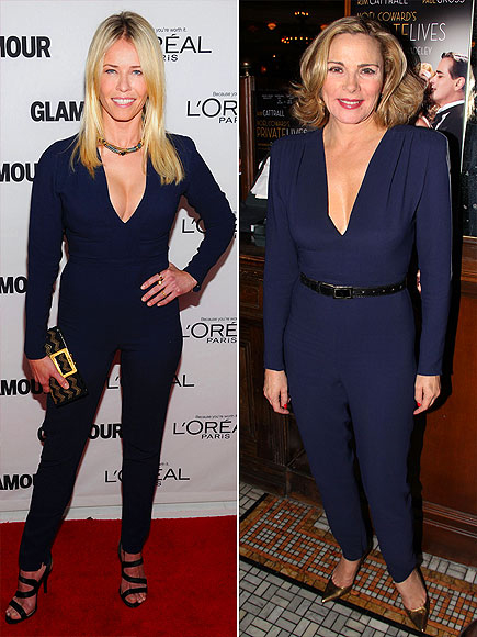 CHELSEA VS. KIM photo | Chelsea Handler, Kim Cattrall