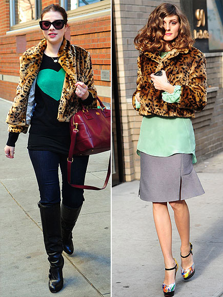 MICHELLE VS. OLIVIA photo | Michelle Trachtenberg, Olivia Palermo
