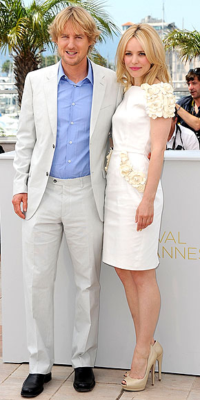 Owen Wilson and Rachel McAdams