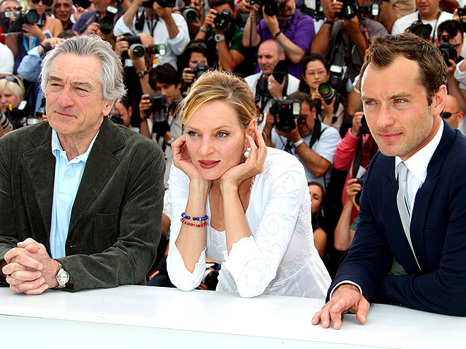 ROBERT DENIRO, UMA THURMAN AND JUDE LAW photo | Jude Law, Robert De Niro, Uma Thurman