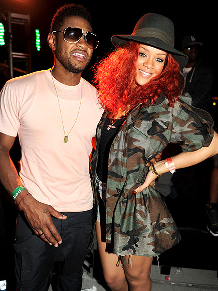 USHER AND RIHANNA photo | Rihanna, Usher