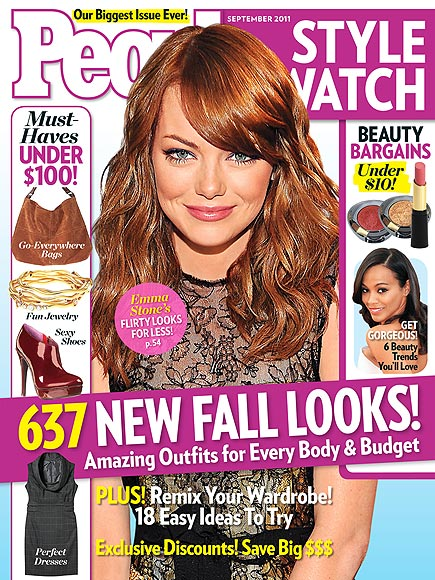 WORK, COVER GIRL!  photo | Emma Stone