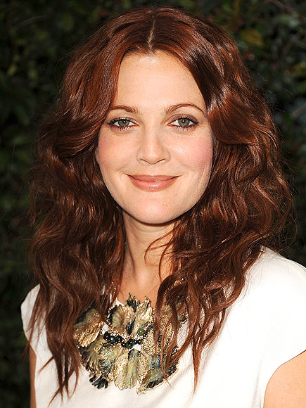 SOLID HAIR COLOR photo | Drew Barrymore