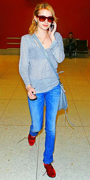 COLORFUL BROGUES photo | Emma Roberts