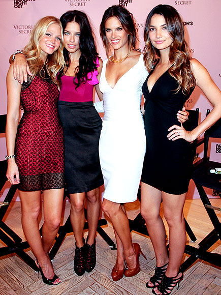 VICTORIA'S SECRET ANGELS photo | Adriana Lima, Alessandra Ambrosio, Lily Aldridge