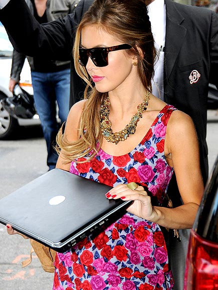 DELL INSPIRON LAPTOP photo | Audrina Patridge