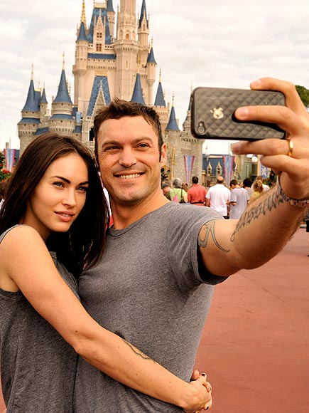 IPHONE 4 photo | Brian Austin Green, Megan Fox