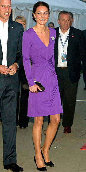 VIOLET NIGHT photo | Kate Middleton