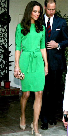 GREEN WITH ENVY photo | Kate Middleton