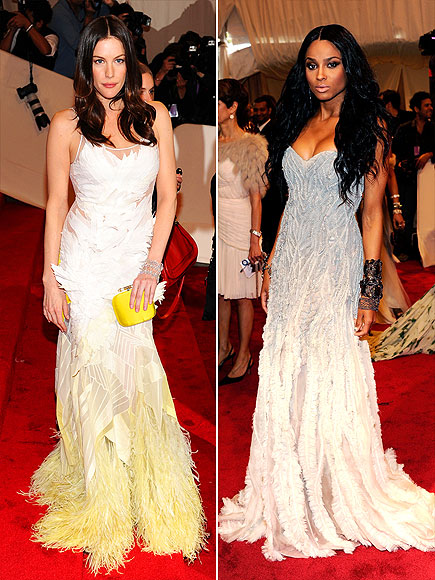 OMBR&#201; FEATHERS photo | Ciara, Liv Tyler