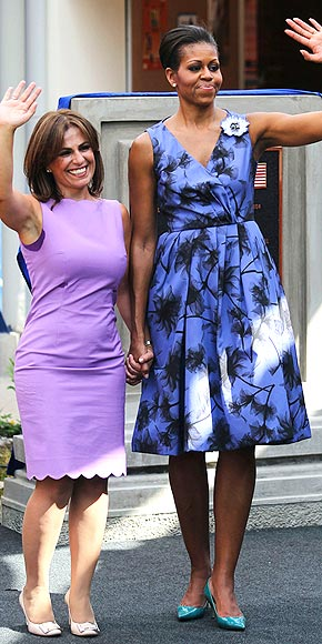 PURPLE REIGN photo | Michelle Obama