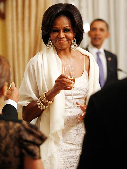 CHAMPAGNE SUPERNOVA photo | Michelle Obama