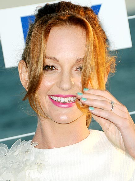 SOFT BLUE photo | Jayma Mays