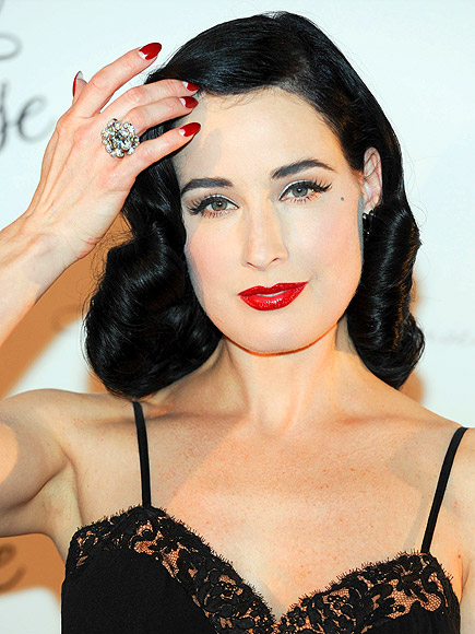 HALF-MOON MANI photo | Dita Von Teese