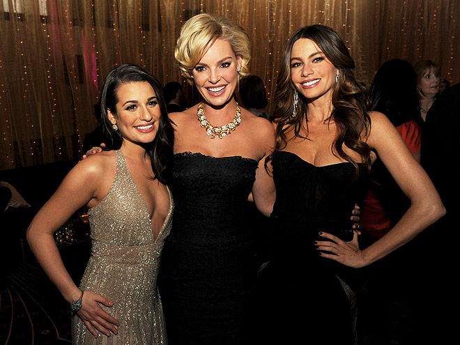 LEA, KATHERINE & SOFIA photo | Katherine Heigl, Lea Michele, Sofia Vergara