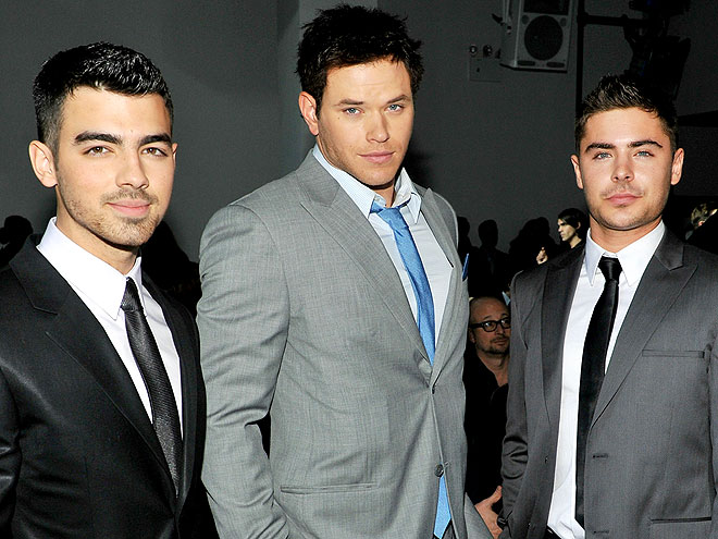 JOE JONAS, KELLAN LUTZ &#38; ZAC EFRON photo | Joe Jonas, Kellan Lutz, Zac Efron