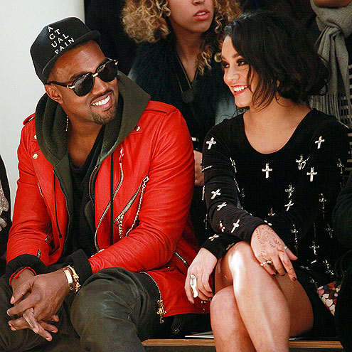 KANYE WEST AND VANESSA HUDGENS photo | Kanye West, Vanessa Hudgens