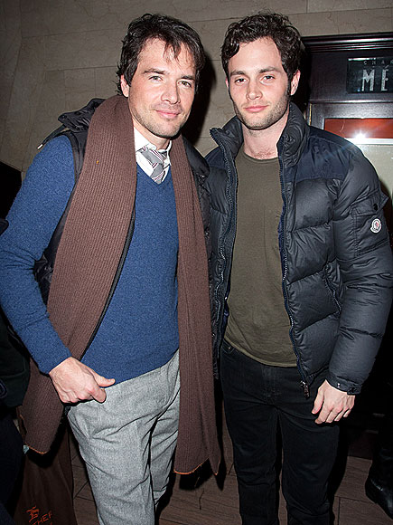 MATTHEW SETTLE & PENN BADGLEY photo | Matthew Settle, Penn Badgley