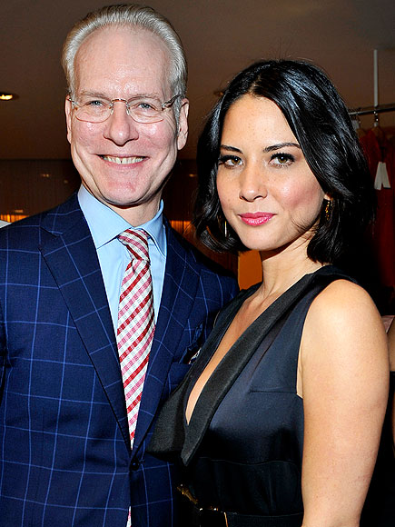 TIM GUNN AND OLIVIA MUNN photo | Olivia Munn, Tim Gunn