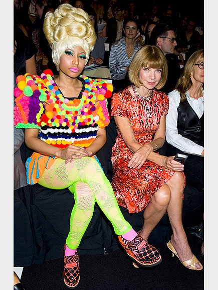 NICKI MINAJ & ANNA WINTOUR photo | Anna Wintour, Nicki Minaj