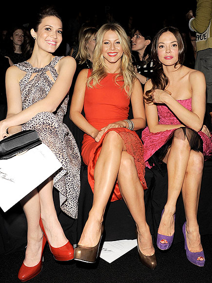 MANDY MOORE, JULIANNE HOUGH & ROSE MCGOWAN photo | Julianne Hough, Mandy Moore, Rose McGowan