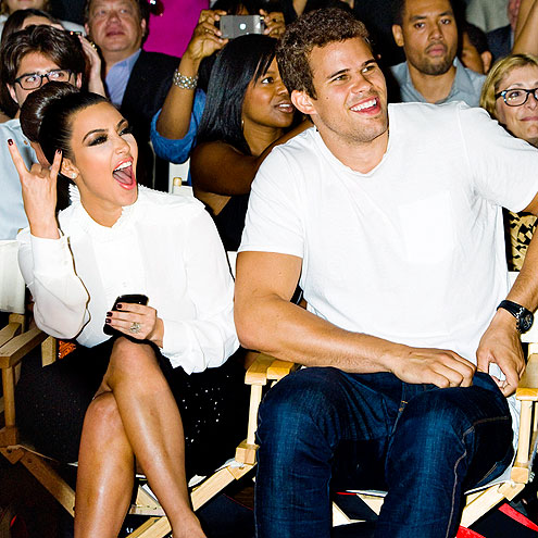 KIM KARDASHIAN & KRIS HUMPRHIES photo | Kim Kardashian, Kris Humphries