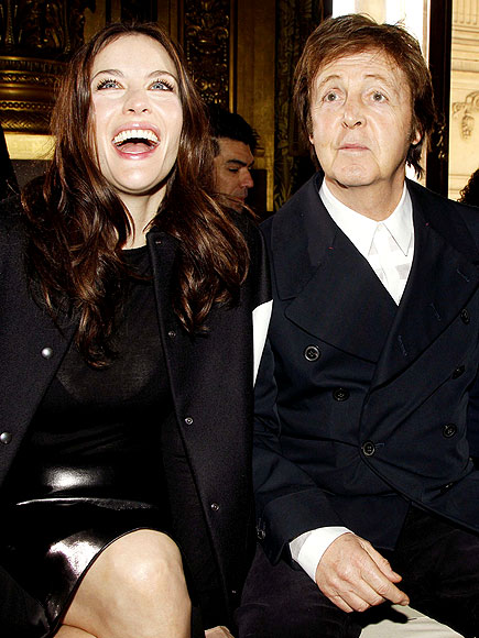 LIV TYLER &#38; PAUL MCCARTNEY photo | Liv Tyler, Paul McCartney