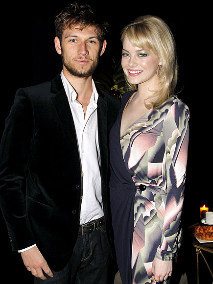ALEX PETTYFER AND EMMA STONE photo | Alex Pettyfer, Emma Stone