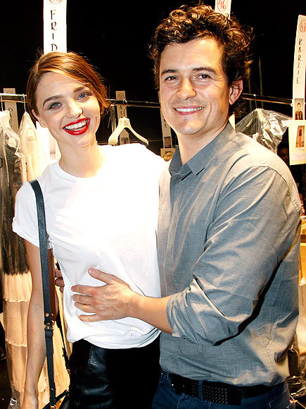 MIRANDA KERR & ORLANDO BLOOM photo | Miranda Kerr, Orlando Bloom