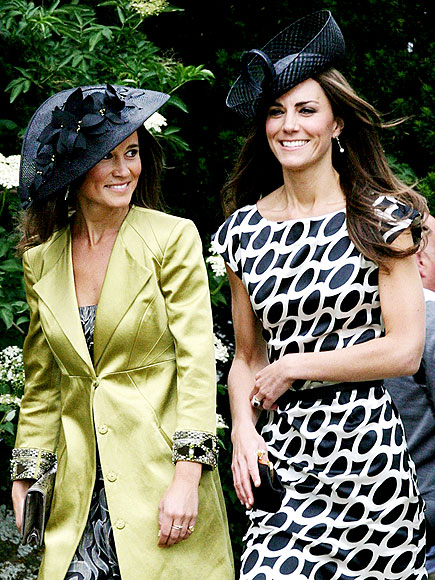 HAT TRICK photo | Kate Middleton, Pippa Middleton