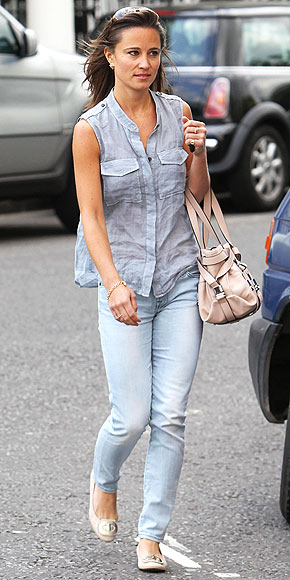 DOUBLE DENIM   photo | Pippa Middleton