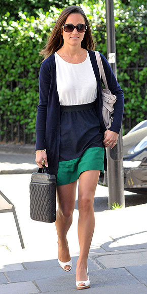 LUCKY STRIPE photo | Pippa Middleton