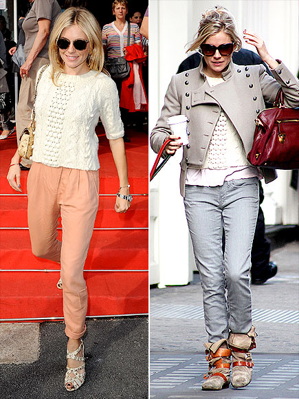 SIENNA MILLER'S SWEATER photo | Sienna Miller