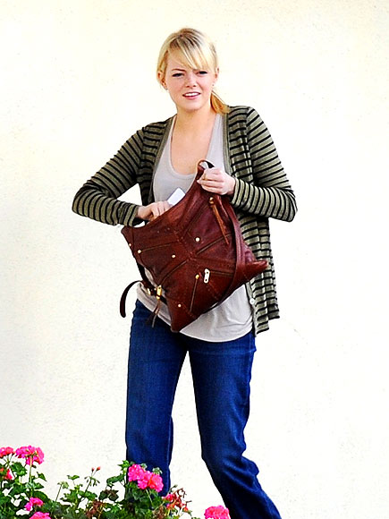 ZIPPERED CROSSBODY photo | Emma Stone