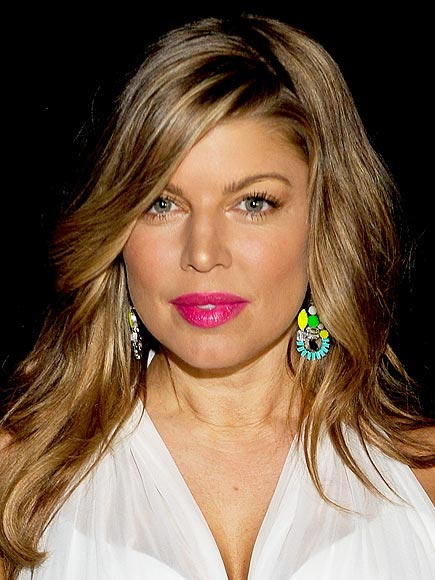 HOT PINK LIPS photo | Fergie