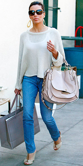 WEDGE ESPADRILLE photo | Eva Longoria