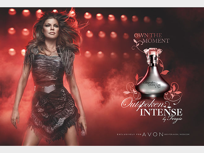FERGIE: OUTSPOKEN INTENSE photo | Fergie