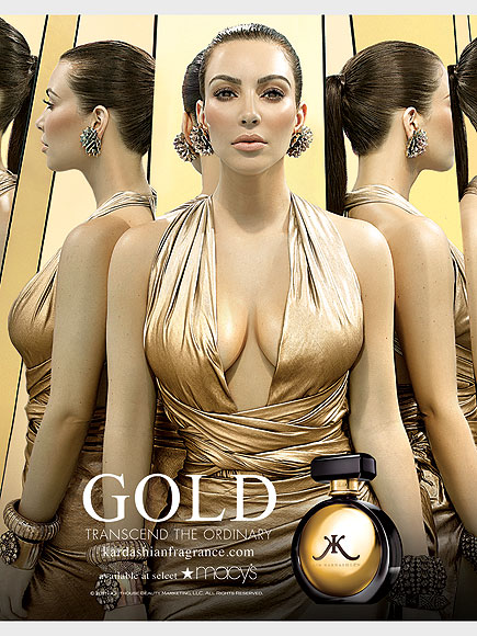 KIM KARDASHIAN: GOLD photo | Kim Kardashian