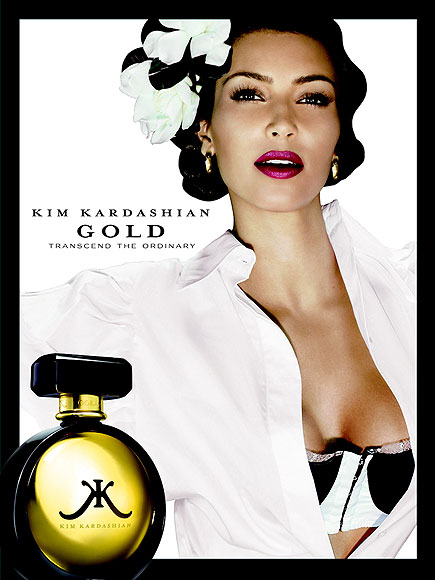 KIM KARDASHIAN: GOLD photo | Kim Kardashian