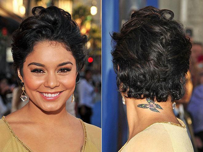 VANESSA HUDGENS'S CLOSE CROP photo | Vanessa Hudgens