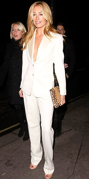 MENSWEAR-INSPIRED PANTSUIT photo | Cat Deeley