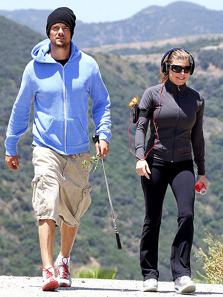 FERGIE GETS FIT &#192; DEUX photo | Fergie, Josh Duhamel