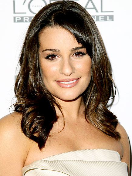 LEA MICHELE&#39;S MAKEUP photo | Lea Michele