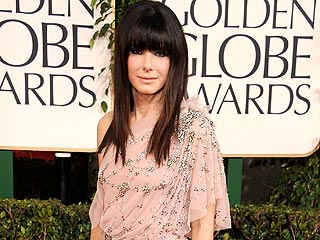Globes 2011 DIY Beauty in 4 Steps | Sandra Bullock